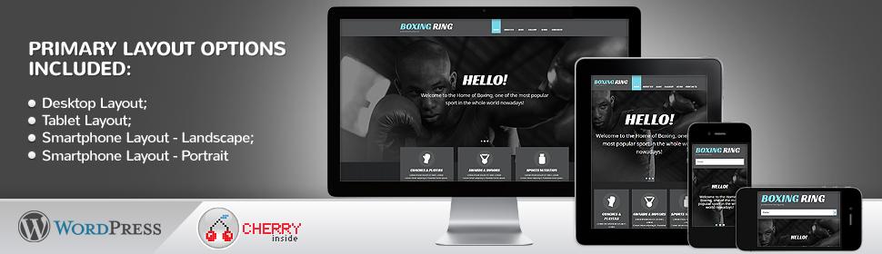 Boxing Ring - Template WordPress