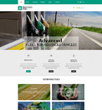 Responsive JavaScript Animated Template #54543