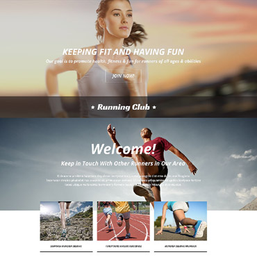 Landing Page Template # 54560