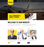 Responsive JavaScript Animated Template #54567