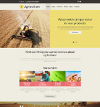 Agriculture Company Joomla Template