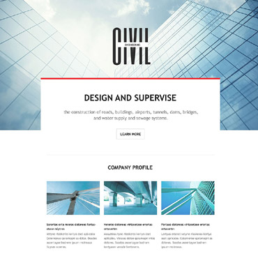Landing Page Template # 54596