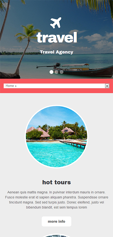 Travel Most Popular website inspirations at your coffee break? Browse for more Drupal #templates! // Regular price: $75 // Sources available: .PSD, .PHP #Travel #Most Popular #Drupal
