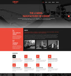 Responsive JavaScript Animated Template #54647