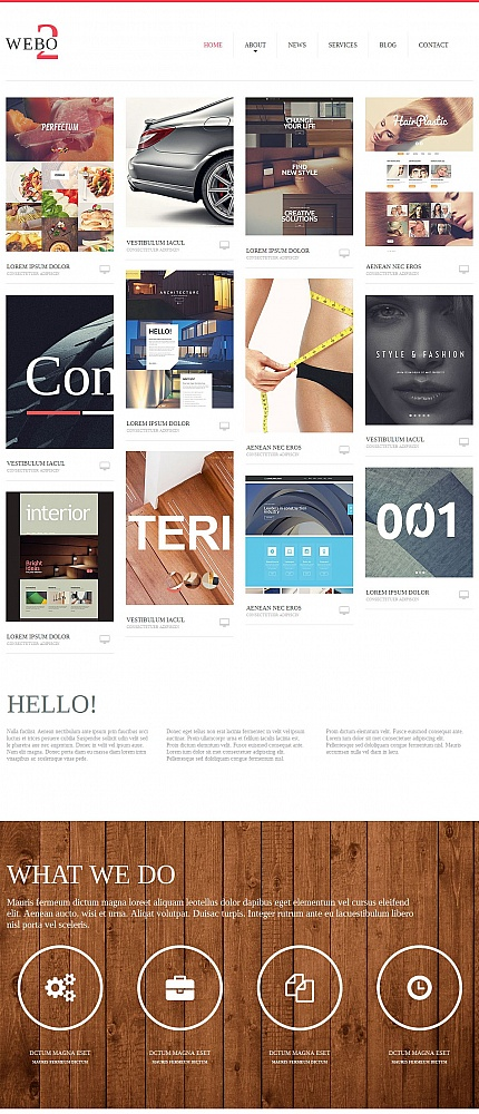 Web Design website inspirations at your coffee break? Browse for more Moto CMS HTML #templates! // Regular price: $139 // Sources available:<b>Sources Not Included</b> #Web Design #Moto CMS HTML