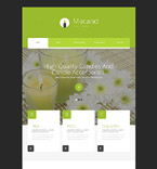 Responsive JavaScript Animated Template #54685