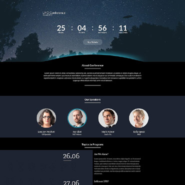 Landing Page Template # 54693