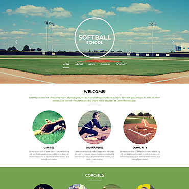 Website Template # 54699