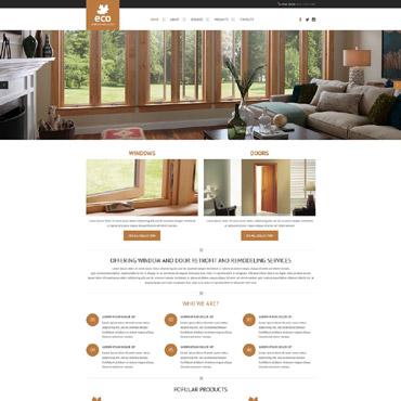 Website Template # 54709