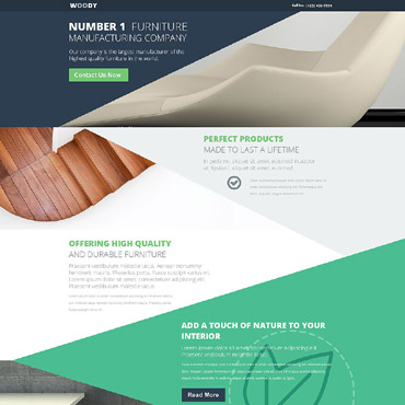 Landing Page Template # 54723
