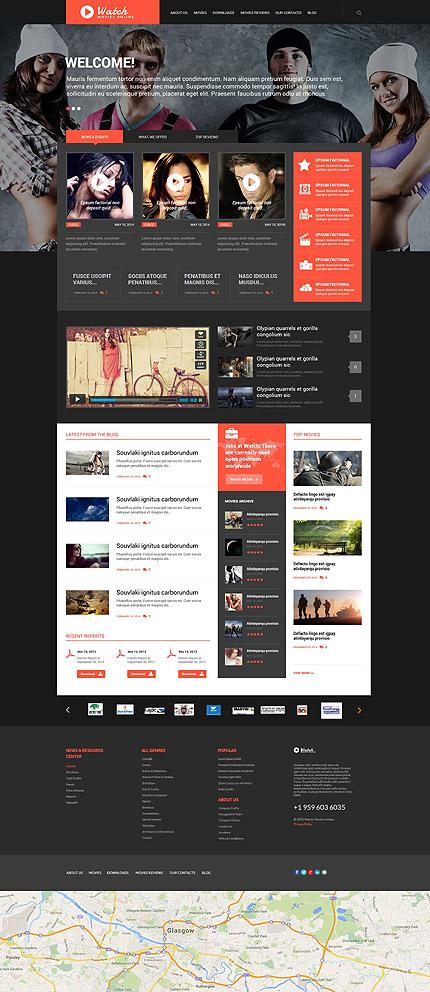Watch - Template WordPress