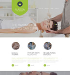 Responsive JavaScript Animated Template #54738
