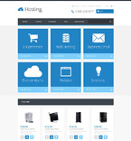 Web Hosting OpenCart Template