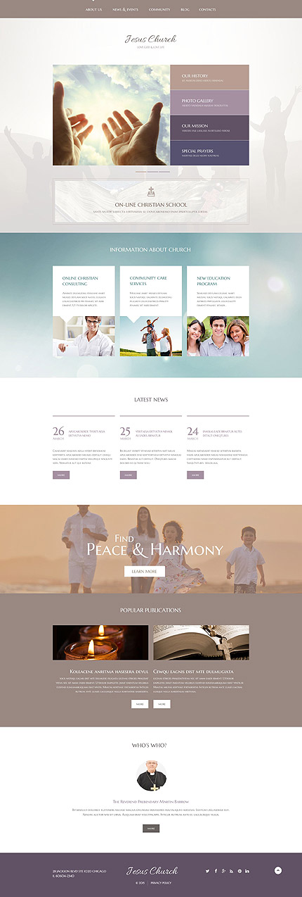 Wedding Most Popular website inspirations at your coffee break? Browse for more WordPress #templates! // Regular price: $75 // Sources available: .PSD, .PHP, This theme is widgetized #Wedding #Most Popular #WordPress