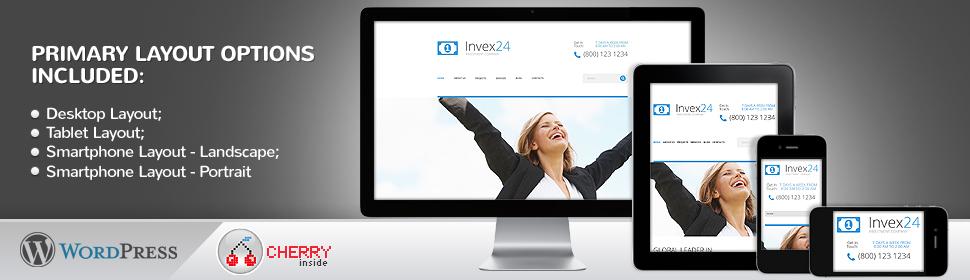 Invex24 - Template WordPress