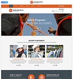 Responsive JavaScript Animated Template #54876
