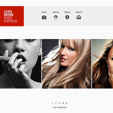 Photo Gallery Template # 54928
