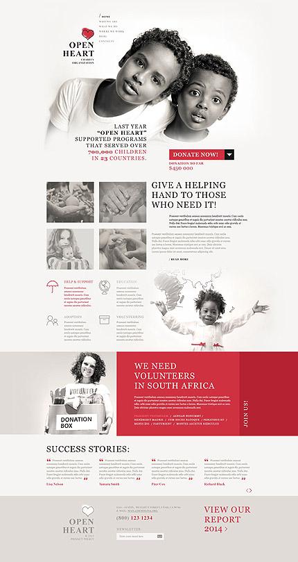 Open Heart - Template WordPress