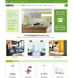 Lightning Store OpenCart Template