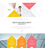 Responsive JavaScript Animated Template #54969