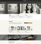 Responsive JavaScript Animated Template #54970