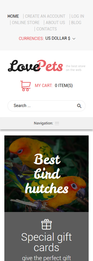 Animals & Pets Most Popular website inspirations at your coffee break? Browse for more VirtueMart #templates! // Regular price: $139 // Sources available: .HTML,  .PSD, .PHP, .XML, .CSS, .JS #Animals & Pets #Most Popular #VirtueMart