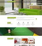 Responsive JavaScript Animated Template #54995