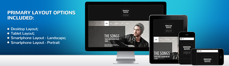 Personal Pages - Type website-templates - Template # 54996 ...