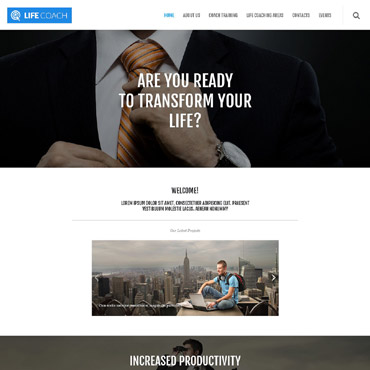 WordPress Theme # 55030
