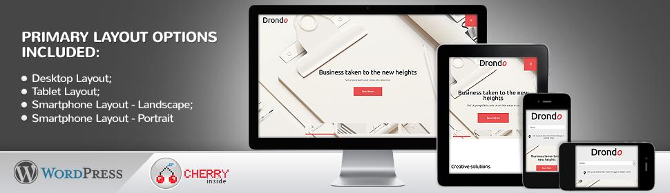 Drondo - Template WordPress