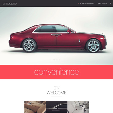 WordPress Theme # 55049