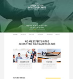 Responsive JavaScript Animated Template #55052