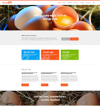 Responsive JavaScript Animated Template #55053