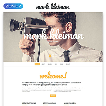 Website Template # 55073