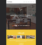 Responsive JavaScript Animated Template #55144