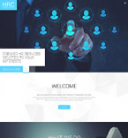 Responsive JavaScript Animated Template #55149