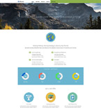 Responsive JavaScript Animated Template #55151