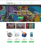 Sewing Store Magento Template