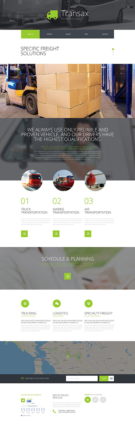 Transportation Most Popular website inspirations at your coffee break? Browse for more Joomla #templates! // Regular price: $75 // Sources available: .PSD, .PHP #Transportation #Most Popular #Joomla