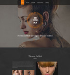 Responsive JavaScript Animated Template #55192