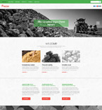 Responsive JavaScript Animated Template #55240
