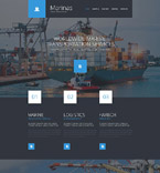 Responsive JavaScript Animated Template #55243
