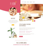 Responsive JavaScript Animated Template #55244