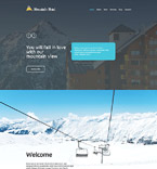 Responsive JavaScript Animated Template #55245