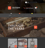 Antique Online Store Magento Template