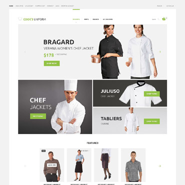 OpenCart Template # 55260