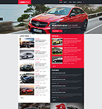 Cars Blog Joomla Template