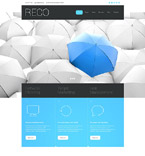 Responsive JavaScript Animated Template #55292