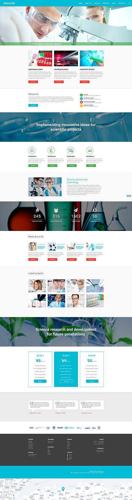 Science Most Popular website inspirations at your coffee break? Browse for more Drupal #templates! // Regular price: $75 // Sources available: .PSD, .PHP #Science #Most Popular #Drupal