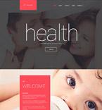 Family Healthcare Drupal Template